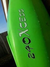 Tel 240 X cess Kayak.