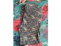 Next chino linen trousers, size 8, £6