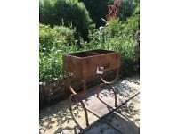 Suitcase style garden planter brilliantly different