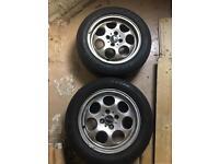 Mini 15inch pepperpot alloy wheels