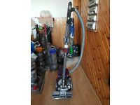 purple Dyson DC19 Cylinder Hoover bagless new motor fitted 1 months warranty just with