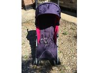Mamas and Papas Tour 2 pushchair in purple