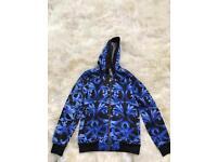 Versace Men's Blue Jacket Size Medium Brand New Still Tagged