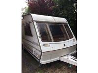 Abbey Spectrum 418 Twin Axle luxury 4 Berth Caravan