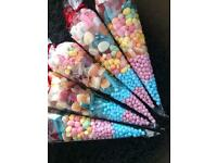 Sweet cones (halal)