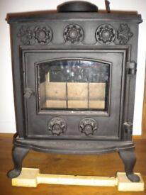 New Cast Iron Stove Log/Wood/Coal burner