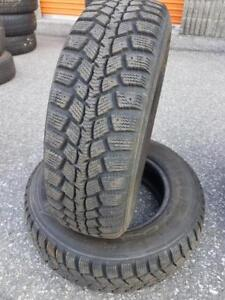 2 PNEUS HIVER - MARSHALL 185 70 14 - 2 WINTER TIRES