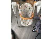Baby chair, swinging chair,