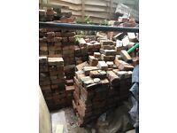 Reclaimed Red Building Bricks