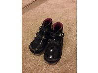 Girls school shoes boots kickers