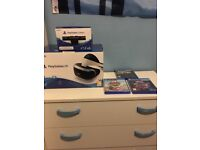 PlayStation vr with camera 3 games