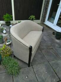 Quality antique style 2 seater settee