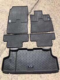 Full set of genuine BMW Mini rubber mats