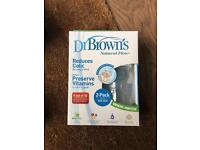 Dr Browns Colic Bottles brand new