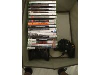 A Bunch of Xbox 360 Games, plus 2 controllers. £20 probably.