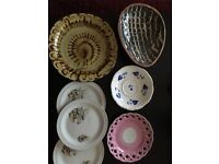Selection of plates
