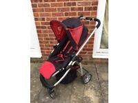 Icandy pushchair and raincover