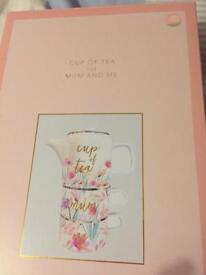 Cup of tea for mum & me tea set