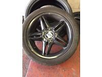 Seat cupra ronal wheels and tyres (Leon wheels)