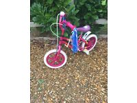 Pink Daisychain child's bicycle