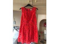 next petite dress. Size 12 Worn once to wedding