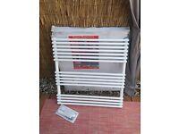 Brand new towel radiator 75x77 cm