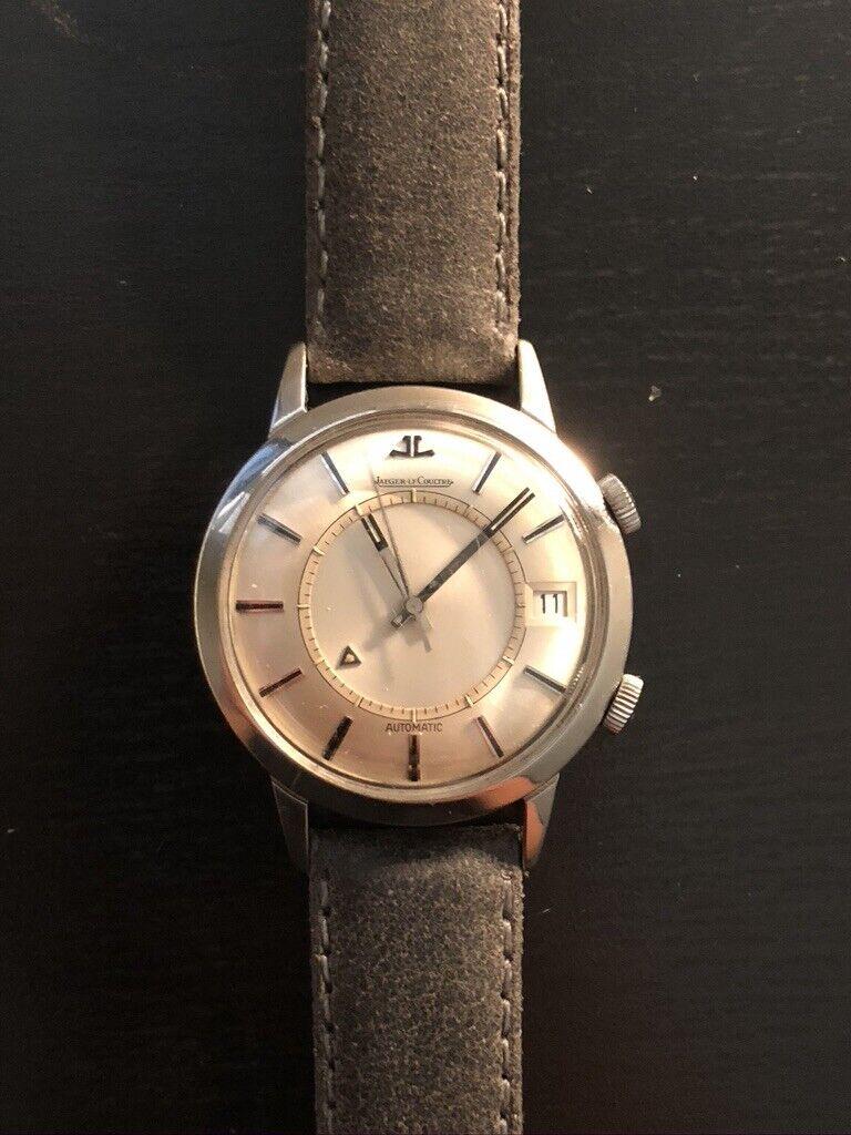 Vintage Jumbo Jaeger Lecoultre E855 Memovox - watch picture 1