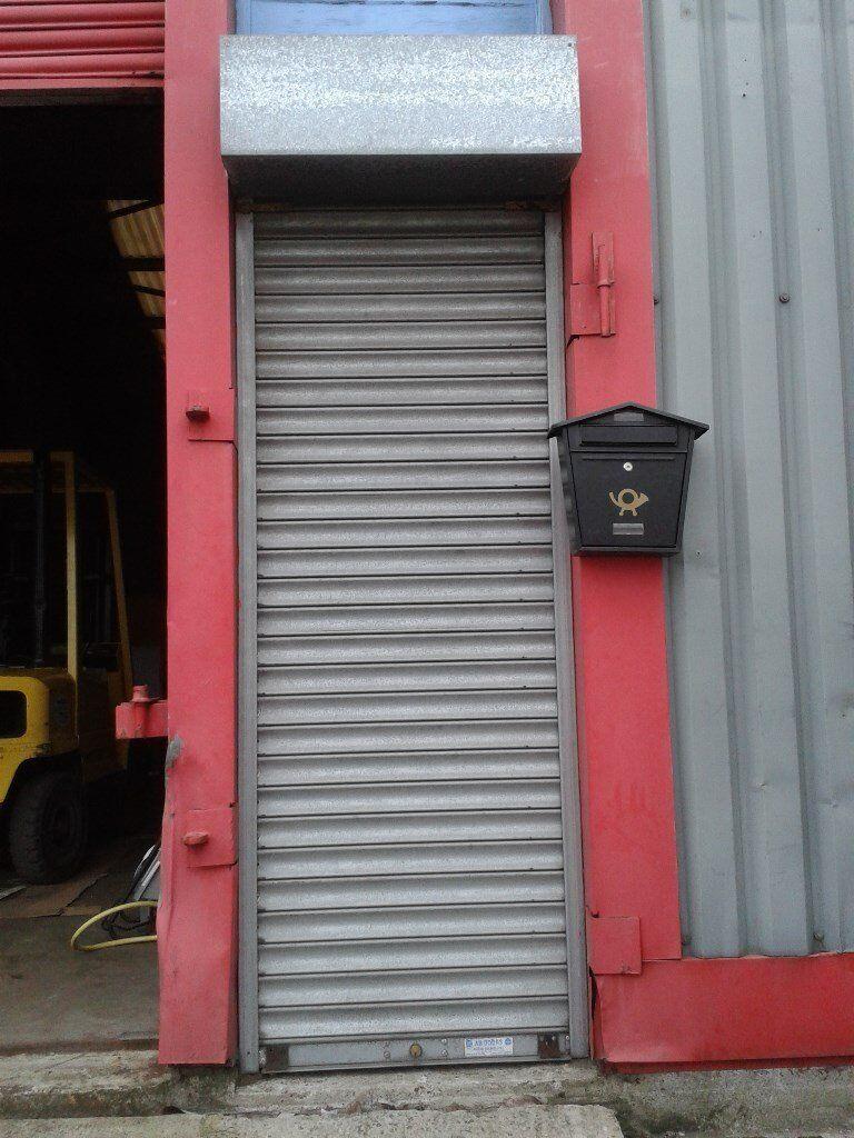 steel shutter door