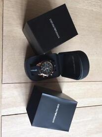 Emporio Armani men's watch. Nearly new.