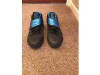 Kyrie 2 Black and Blue Trainers