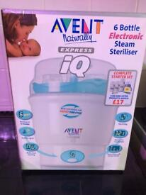 Avent electric food warmer and steam steriliser