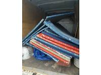 Crash mats 2mtr by 1 mtr
