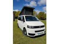 VW T5 Transporter Camper 2015, Pop Top, 102ps FSH 36,000 MILES NEW CONVERSION, VW WARRANTY