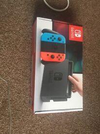Brand new sealed nintendo switch £250