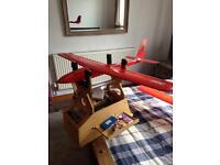 Rc plane and glider plus flight box