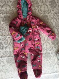 Joules Snow Suit 12/18mths