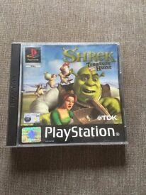 Shrek Treasure Hunt (PS1)