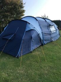 8 man tent used once