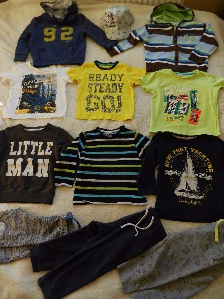 baby clothes bundle boy size 18 24 monthsin Bournemouth, DorsetGumtree - Baby boy clothes bundle size 18 24 months. 12 items. All in good condition, from pet and smoke free home