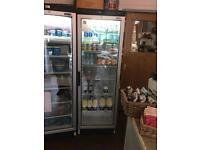 Cafe, deli, restaurant glass fronted fridge