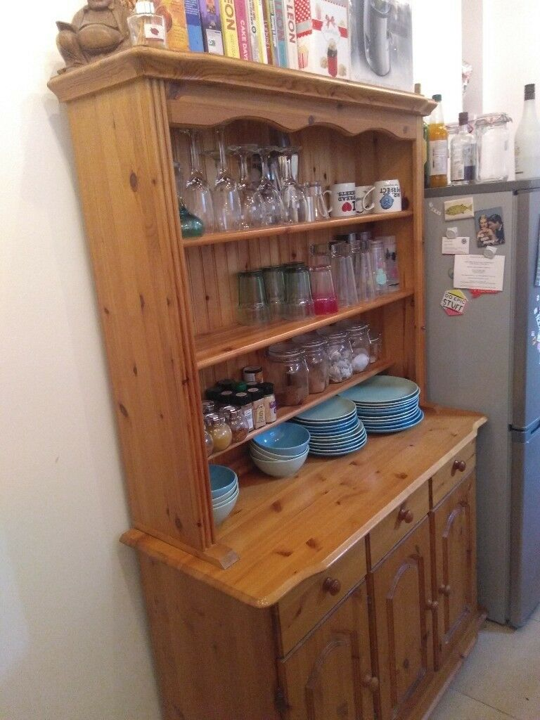solid wood welsh dresser sideboard kitchen storage