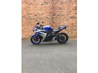 Yamaha Yzf R3 321cc ABS with slip on akrapovic exhaust, £1800