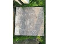 20 buff paving stones - collection only