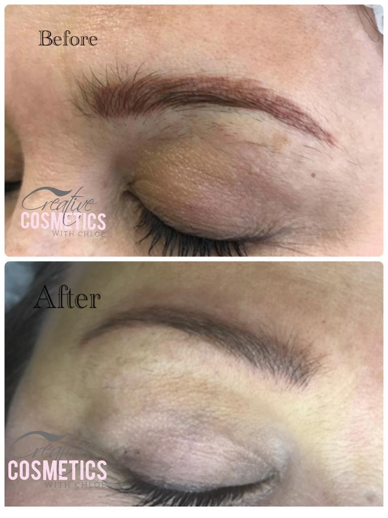 Semi permanent makeup and micro blading
