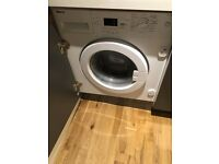 Beko WMI71641 integrated washing machine - great condition