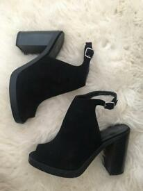 New Look Black heeled shoes