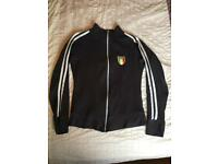 Size 8-10 Navy blue Italia long sleeve zip up top