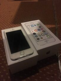 apple iphone 5s white silver 16 gig gb unlocked open o2 02 ee t mobile virgin tesco 3 vodafone new