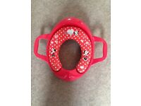 Minnie Mouse Soft Padded Toilet Seat