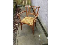 Mid Century W Lusty & Sons Ltd Elm Bentwood Chair